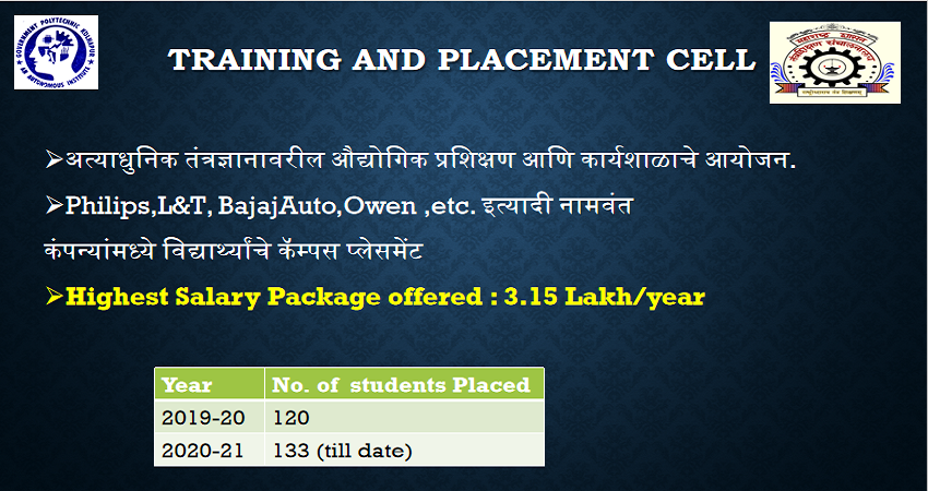 Training and placement cell